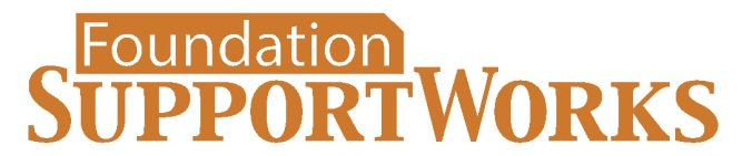Foundation support logo orange v2