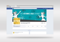 THE ATOMIC AGE FACEBOOK PAGE MOCKUP